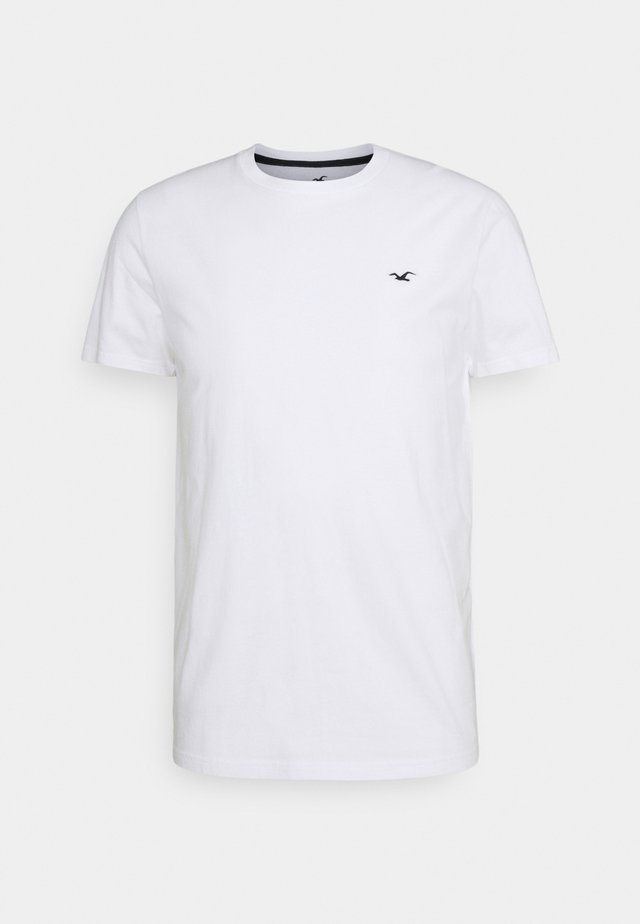 CREW SOLID - Basic T-shirt - white