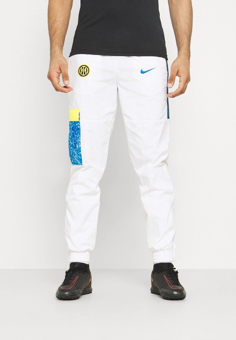 Nike Performance - INTER MAILAND PANT  - Klubbkläder - white/tour yellow/black/blue spark