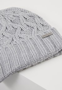 Michael Kors - CABLE CUFF HAT - Mössa - heather grey - 5