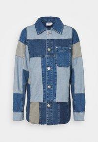 BDG Urban Outfitters - PATCHWORK OVERSHIRT - Halflange jas - denim - 4