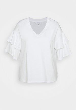 DROP SHOULDER - Print T-shirt - white
