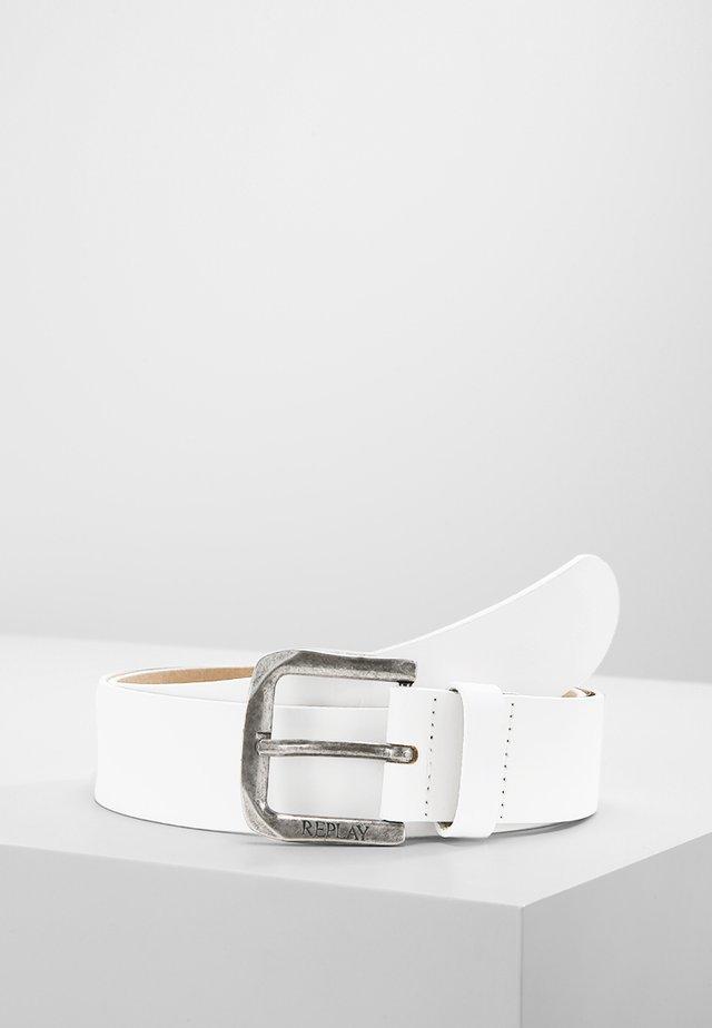 CINTURA - Pasek - white