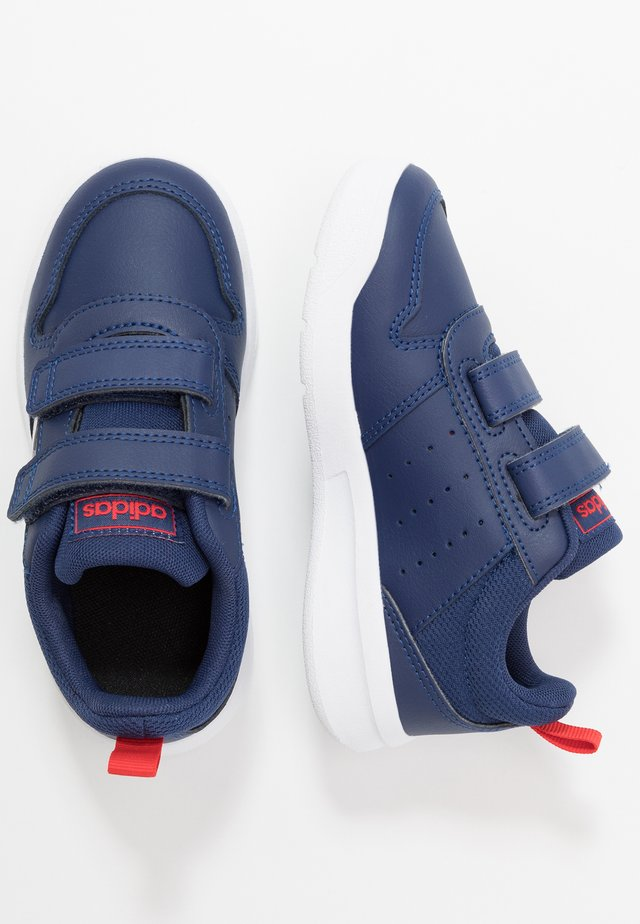 TENSAUR UNISEX - Neutrale løbesko - dark blue/footwear white/active red