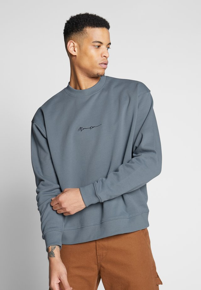 ESSENTIAL SIGNATURE BOXY - Collegepaita - teal