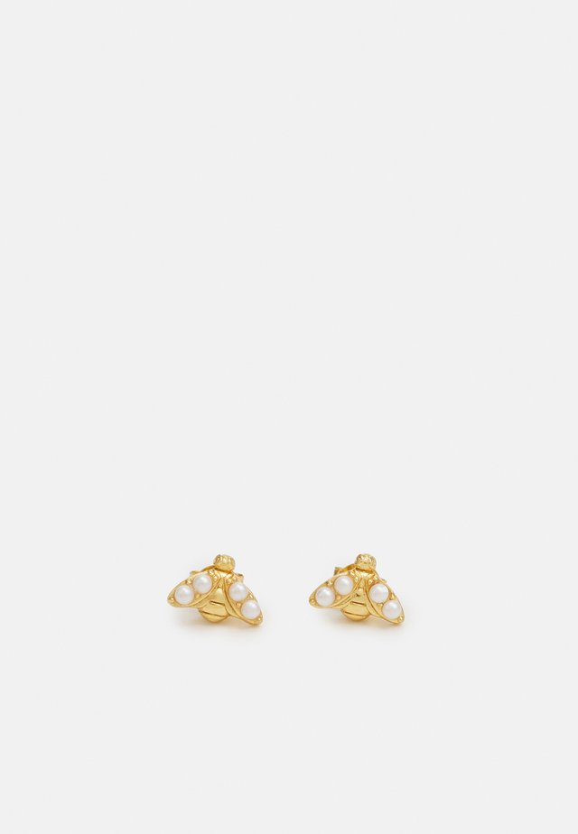 BEE STUD EARRINGS - Oorbellen - gold-coloured