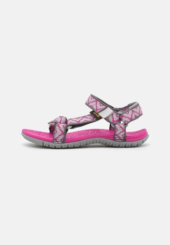HURRICANE 3 UNISEX - Walking sandals - balboa fucshia red