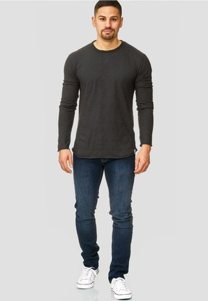 LONGSLEEVE WILLBUR - Long sleeved top - anthracite