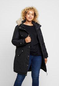 Vero Moda Curve - VMTROK EXPEDITION  - Winter coat - black - 0