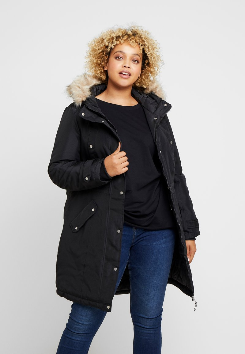 Vero Moda Curve - VMTROK EXPEDITION  - Winter coat - black