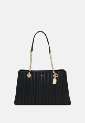 AMELIA TOTE - Tote bag - black/gold-coloured