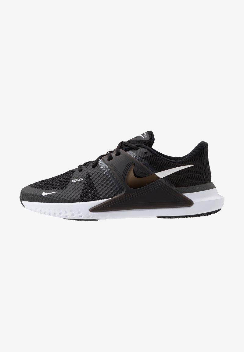 Nike Performance - RENEW FUSION - Sportovní boty - black/white/dark smoke grey