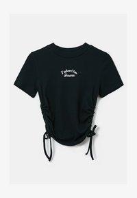 TALLY WEiJL - GERÜSCHTES - T-Shirt print - black - 4