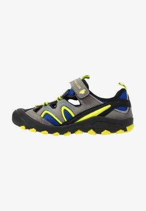 Sandały trekkingowe - coal/royal/lime