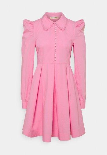 LUCY - Shirt dress - fuchsia pink