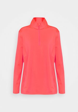 WOMAN  - Fleece jumper - red fluo