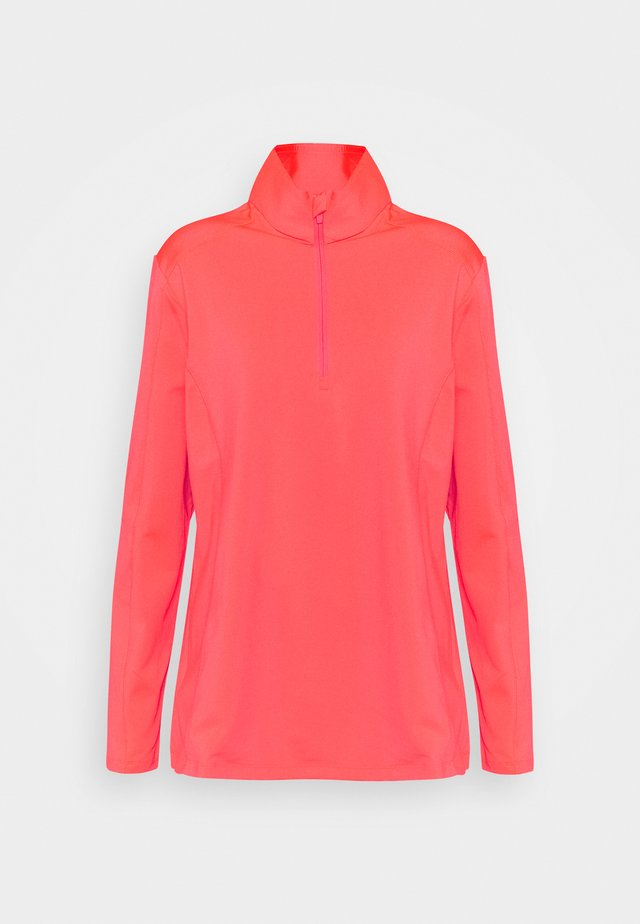 WOMAN  - Bluza z polaru - red fluo