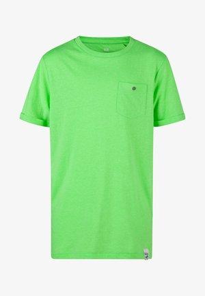 WE FASHION JONGENS NEON T-SHIRT - T-Shirt basic - green
