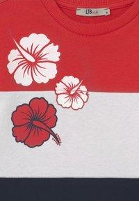 LTB - NAFETA - Mikina - racing red/white/navy block - 2