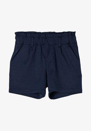 MIT PAPERBAG-BUND - Shorts - navy