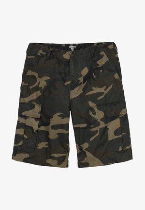 REGULAR - Shorts - rinsed camo laurel