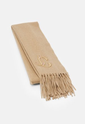 SCARF EMBROIDERY - Scarf - camel
