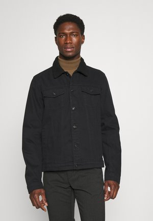 SDTIO - Džínová bunda - black