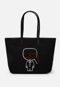 KARL LAGERFELD - IKONIK OUTLINE - Shopping Bag - black - 1