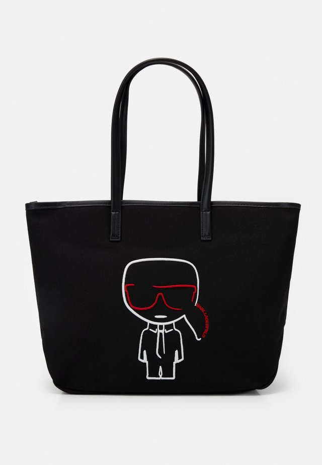 IKONIK OUTLINE - Tote bag - black
