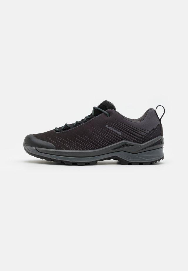 ZIRROX GTX LO - Zapatillas de senderismo - black/grey