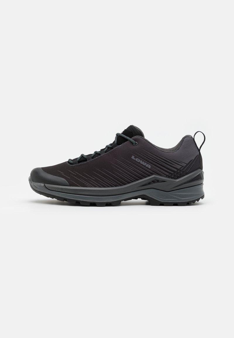 Lowa - ZIRROX GTX LO - Chaussures de marche - black/grey