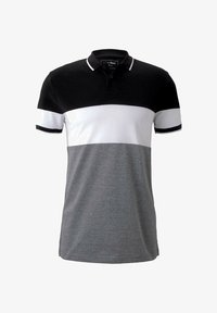 TOM TAILOR DENIM - Polo shirt - black - 4