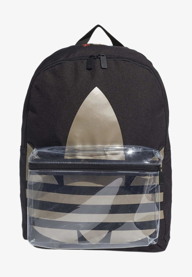 adidas Originals - ADICOLOR LARGE TREFOIL CLASSIC BACKPACK - Sac à dos - black/gold