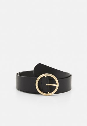 WAIST BELT - Pásek - black/gold-coloured