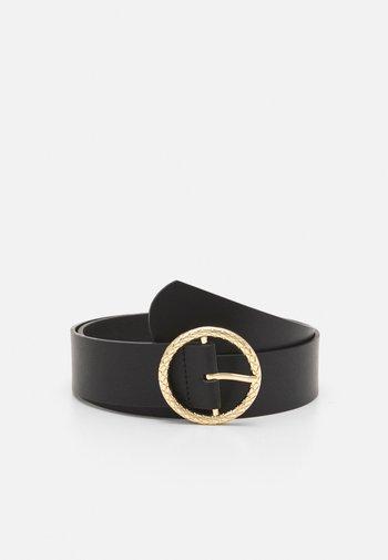 WAIST BELT - Waist belt - black/gold-coloured