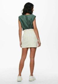 ONLY - Mini skirt - ecru - 2