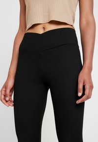 Topshop - BALLET - Leggings - Trousers - black - 4