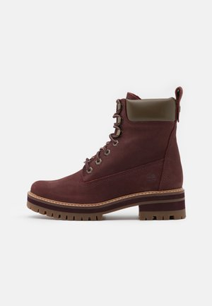 COURMAYEUR VALLEY YBOOT - Lace-up ankle boots - burgundy