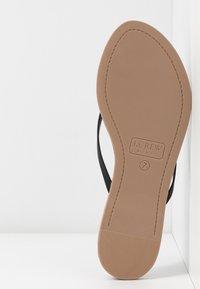 J.CREW - CAPRI  - T-bar sandals - black - 6