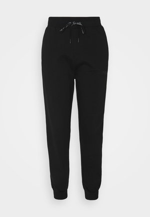 CUFF PANT - Pantalon de survêtement - jet black