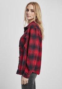 Urban Classics - Button-down blouse - darkblue/red - 2