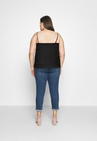 ONLY Carmakoma - CARSIS SINGLET - Top - black - 2