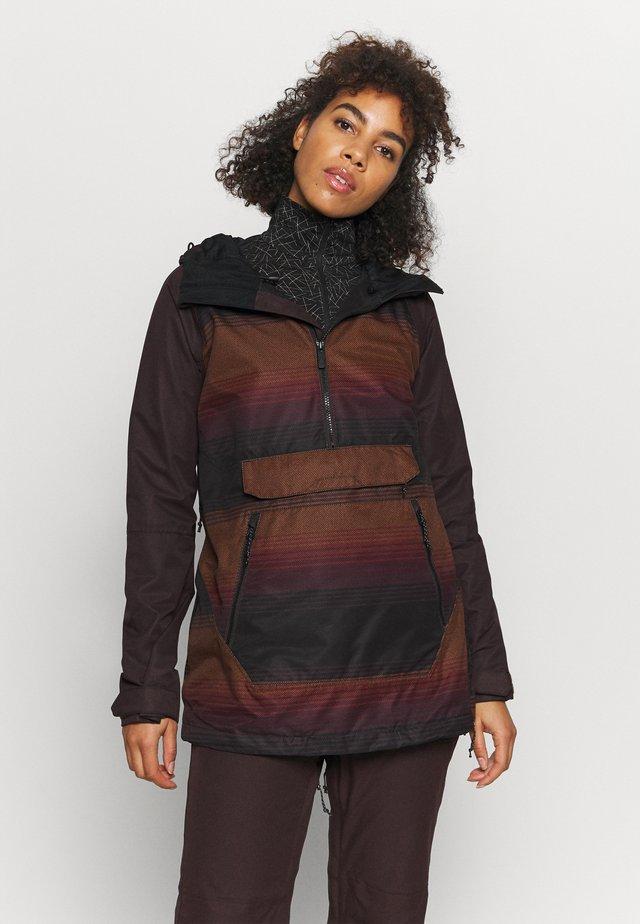 MIRROR - Snowboard jacket - dark red