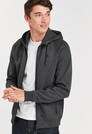 Zip-up hoodie - dark grey