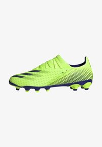 X GHOSTED.3 MULTI-GROUND BOOTS - Moulded stud football boots - green