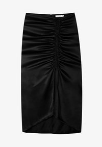 Stradivarius - Pencil skirt - black - 4