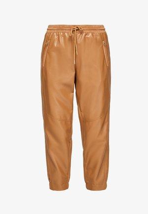 REGULAR - Trousers - caramel