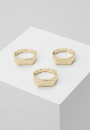 BAR 3 PACK - Anillo - gold-coloured