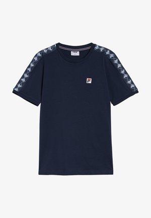 Camiseta estampada - black iris