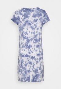 GAP - TEE DRESS - Jersey dress - blue tie dye - 1