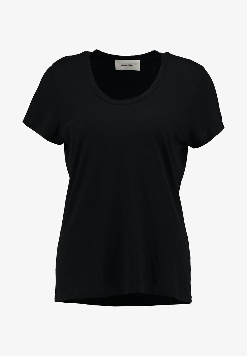 American Vintage JACKSONVILLE ROUND NECK - T-Shirt basic - blanc/weiß iSYwib